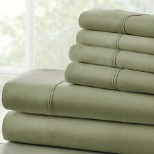 Soft Bedding Essentials 1800 Series 4 Piece Sheet Set + 2 FREE PILLOW CASES!