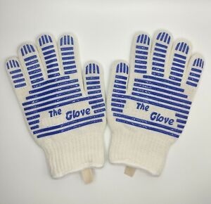 One pair Oven gloves grill glove oven mitts Heat resistant up to 540° F gift