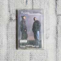 Twinz Conversation Cassette Tape 1995 Def Jam  Records West Coast Gangster Rap