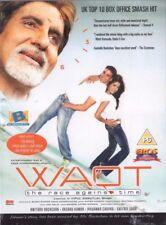 WAQT - THE RACE AGAINST TIME - BOLLYWOOD DVD - Eros & B Bollywood indian dvd.