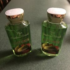 Lot of 2 - Bath & Body Works Pear & Cashmere Woods Shower Gel Full Size!