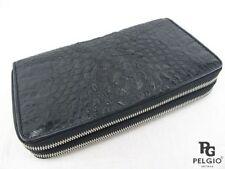 Pelgio Crocodile/Alligator Wristlet Wallets for Women