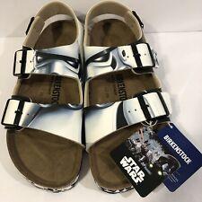 NEW!! Birkenstock - Mens Milano Star Wars Stormtrooper Ankle Strap Sandal sz 42