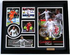 New Gareth Bale Signed Real Madrid Limited Edition Memorabilia