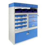 Estantería para Furgonetas Universal Profesional Firecracker Capacidad 60kg Azul