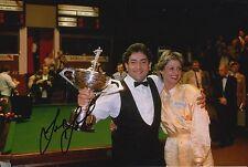 Joe Johnson mano firmado 12X8 Snooker Foto prueba 5.