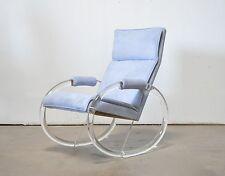 Charles Hollis Jones Vtg Mid Century Modern Lucite Acrylic Rocking Lounge Chair