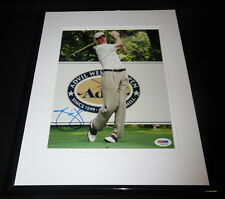 Jim Furyk Signed Framed 8x10 Photo PSA/DNA B