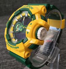 Casio G Shock GA-400CS-9AER Amarillo y Verde Limitada Extra Grande Analógico & Digital Nuevo