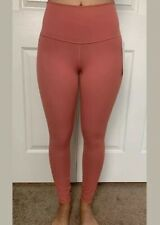 "Lululemon Size 4 Wunder Under HR Tight 25"" *F Coral Pink RUSC Speed HiRise Pant"