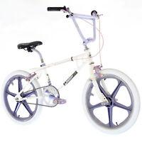 1980s BEACON Cobra FS Vintage Old School Freestyle BMX Bike Sate-Lite Mag Wheels