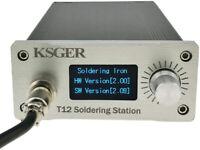 KSGER T12 Soldering Station OLED DIY Kits STM32 V2.01 Temperature Controller