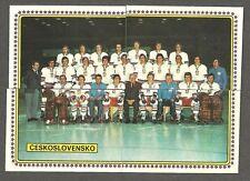 1979 Panini World Hockey 79, Team Czechoslovakia, Set of 23, Pre-Rookie Stastnys