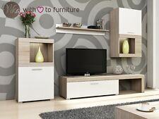 Living room furniture set Vika tv unit Tv stand wall cabinet Free Led lights
