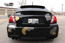 RPG Icon Fiberglass Trunk Spoiler for 11-14 Subaru Impreza WRX STi GVF Sedan