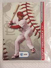 CARDINALS WALL CLING SET sga 9/17/2010 Colby rasmus Matt Holliday wall decals