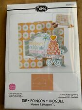 Sizzix Movers & Shapers Scrapbooking Card, Ornate Flip-its #658703 New