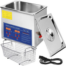 6l Industry Stainless Digital Ultrasonic Cleaner Cleaning Timer Heater Wide Use