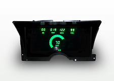1992-1994 Chevy Truck Digital Dash Panel Cluster Gauges Green Leds