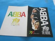 ABBA THE MOVIE SWEDEN MOVIE PROGRAM FROM JAPAN (3)