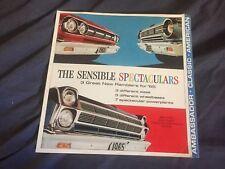 1965 AMC  Rambler Classic Ambassador and American Sales Brochure  Prospekt