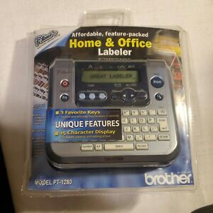 Brother P-Touch PT-1280 Home & Office Labeler Electronic Labeling System -NEW