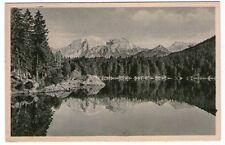 Alte SW-Ansichtskarte Göllspiegelung im Hintersee   (911)