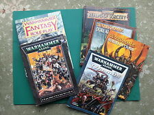 Warhammer 40K, Fantasy Battle, and Roleplay Books and Supplements Multilisting