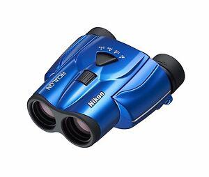 Nikon Binoculars ACULON T11 8-24x25 Porro Prism Blue from Japan