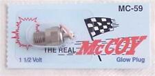 McCoy MC59 Hot Glow Plug for .12-18 (2.5/3.3) Nitro Engines MC-59