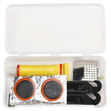 Cycling Bicycle Bike Tire Tyre Puncture Repair Tool Kits Rubber Patch Mini Set