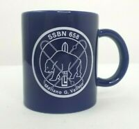 Vintage USS Mariano G. Vallejo SSBN-658 Navy Submarine Coffee Mug Cup