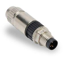 7000-08331-0000000, MurrElektronik, Mosa M8 Male 0° Field-Wireable (Idc), 3-Pol.