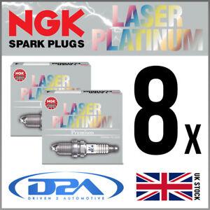 8x NGK PMR8C-H Laser Platinum Spark Plugs For MASERATI GRANTURISMO 4.2 08/07-->