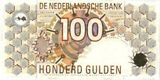 Netherlands 100 gulden 1992 UNC (Owl)