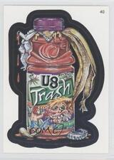 2005 Topps Wacky Packages All New Series 2 #40 U8 Trash Non-Sports Card 2k3