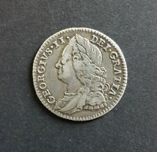 More details for 1750 sixpence george ii approx vf