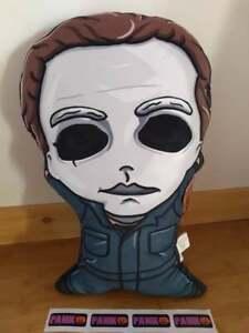"Halloween II Michael Myers Shaped Pal-O Plush Throw Pillow 21"" x 13"""