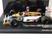 Minichamps 410860106 Williams FW11 N.Piquet K.Rosberg Taxi German GP 1986 1:43