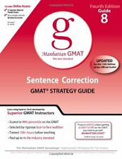 Sentence Correction GMAT Preparation Guide (... by Manhattan GMAT Prep Paperback