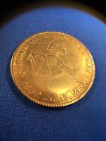 1852 MO-Mexico Gold 8 Escudos