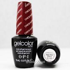 OPI GelColor GC H02 CHICK FLICK CHERRY 15mL/ 0.5oz UV LED Gel Polish Color