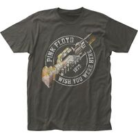Authentic Pink Floyd Wish You Were Here 1975 Album Record Distressed T-shirt top