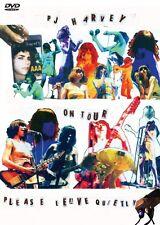 PJ HARVEY On Tour Please Leave Quietly DVD BRAND NEW