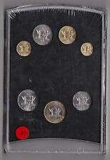 MACAO MACAU - 7 DIF UNC COINS SET: 0,10 - 10 PATACAS BIMETAL 1999 YEAR SPECIMEN