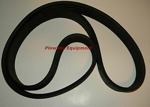 Disc Mower Belt 4 Band 86523096 for New Holland 615 616 617 H6730 H6740 Case IH