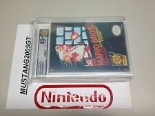 NES NINTENDO SUPER MARIO BROS. BLACK BOX NEW FACTORY SEALED VGA 85+ GOLD LEVEL