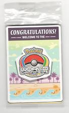 Pokemon 2017 World Championship Sealed Champions Festival Promo Pack Anaheim