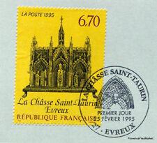 CHASSE SAINT TAURIN  FRANCE Yt 2926 OBLITERATION 1er JOUR  NOTICE PHILATELIQUE