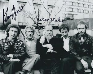 Peter Blake & Kenney Jones HAND SIGNED 8x10 Photo, Autograph, The Who